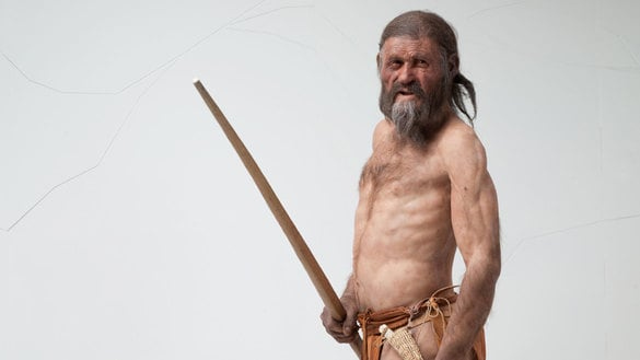 The Ötzi Museum in Bolzano